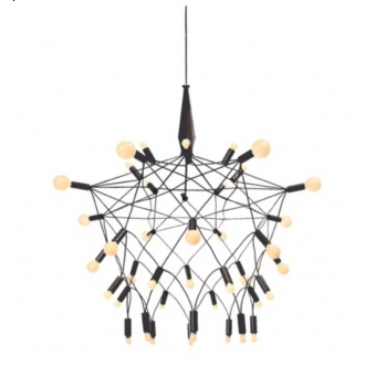 Patrick Townsend Black Orbit Chandelier