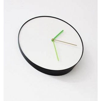 Rich Brilliant Willing Bias Clock :  rich brilliant willing modern slanted clock