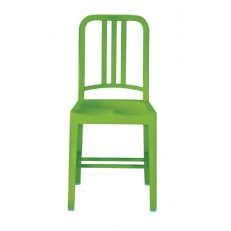 emeco 111 navy chair grass