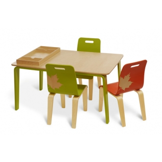 iglooplay Craft/Work Table and Chairs :  iglooplay kids table functional toddler