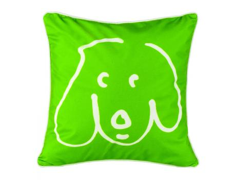 Crypton Doodle Dog Pillow Kermit :  home decorative pillow home accents pillows
