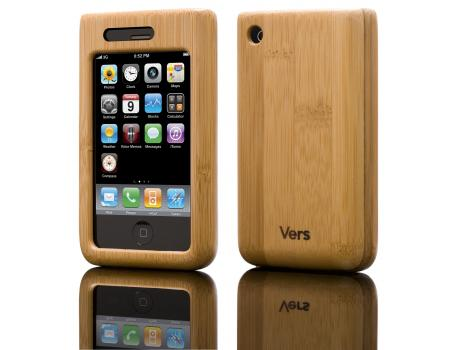 Vers Wood iPhone Shell case - Bamboo